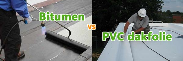 Verschillen tussen bitumen en pvc roofing