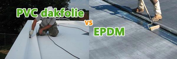 Verschill tussen PVC en EPDM