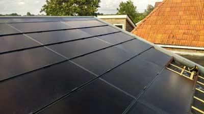 Indak zonnepanelen systeem