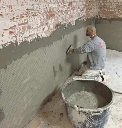 Kelder waterdicht maken met cement