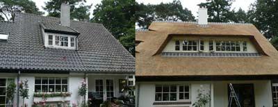 Van pannendak naar rieten dak
