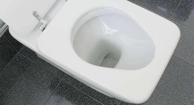 WC Onstoppen En Weer Door Laten Lopen